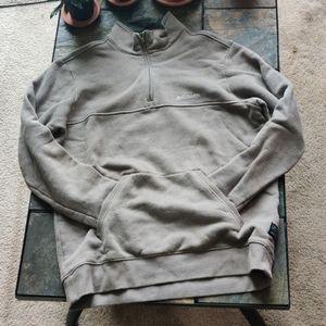 Columbia Sportswear Men's Quarter Zip in Tan L